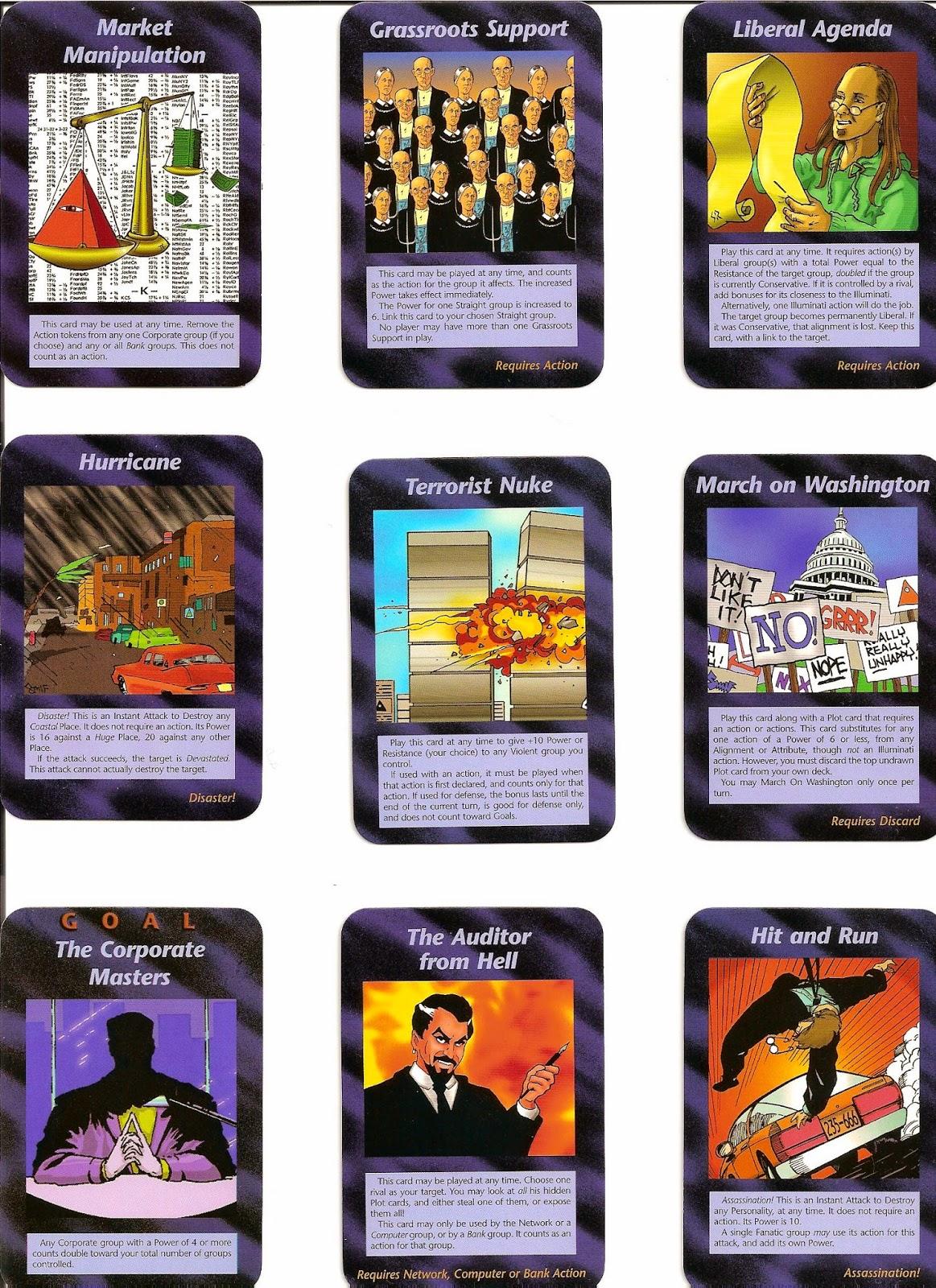 El juego de cartas inwo nuevo orden mundial illuminati for Illuminati juego de mesa